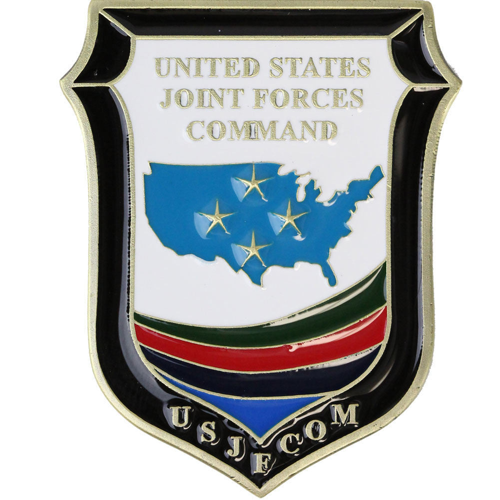 Armed Forces Joint Forces Command Coin - Front