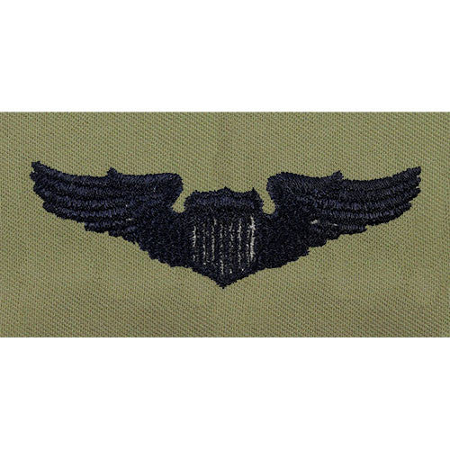 Air Force Pilot Embroidered  Badge - Basic