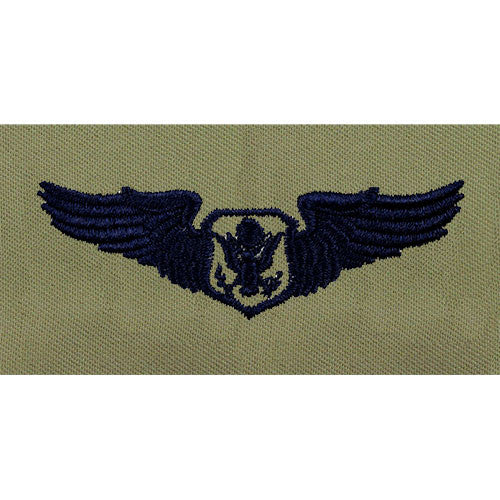 Officer Aircrew Embroidered Badge - Basic