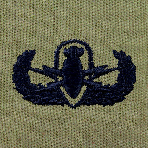 Explosive Ordnance Disposal (EOD) Embroidered Badge - Basic