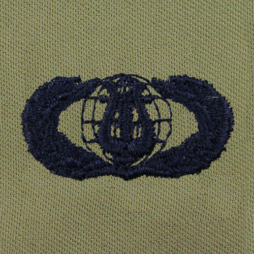 Air Force Band Embroidered Badge - Basic