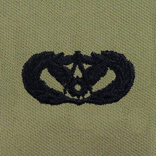 Air Force Civil Engineer Embroidered Badge - Basic