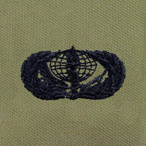 Air Force Services Embroidered Badge - Basic
