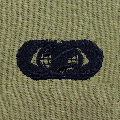 Air Force Information Management Embroidered Badge - Basic