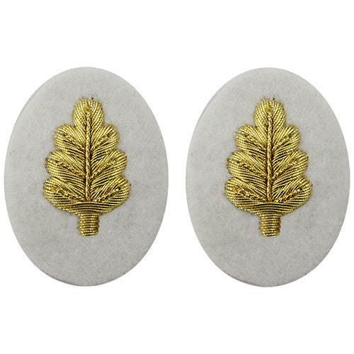 Navy Gold On White Sleeve Device - Nurse Corps