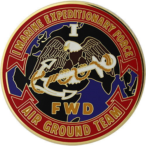 1st Marine Expeditionary Force (FWD) Combat Service Identification Badge