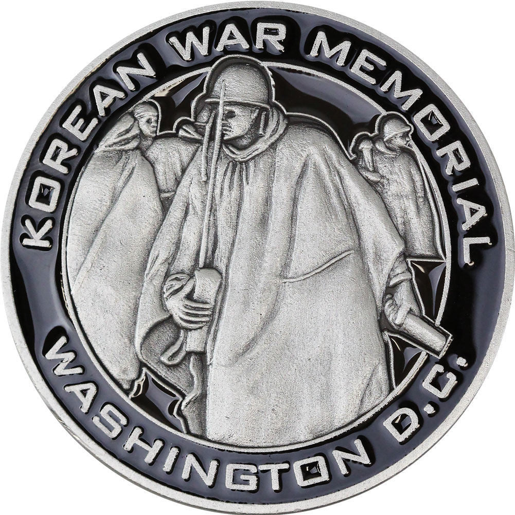 Korean War Memorial Coin - Front