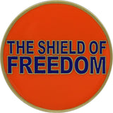 United States Coast Guard Shield of Freedom Coin