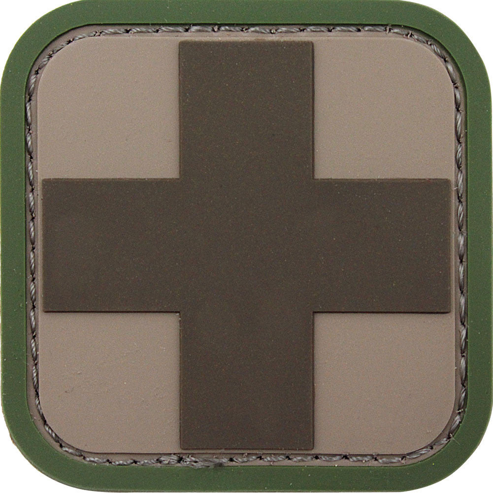 Medic Square 2 Inch PVC Patch - Multicam