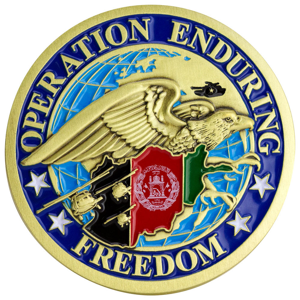 Operation Enduring Freedom - Afghanistan Coin
