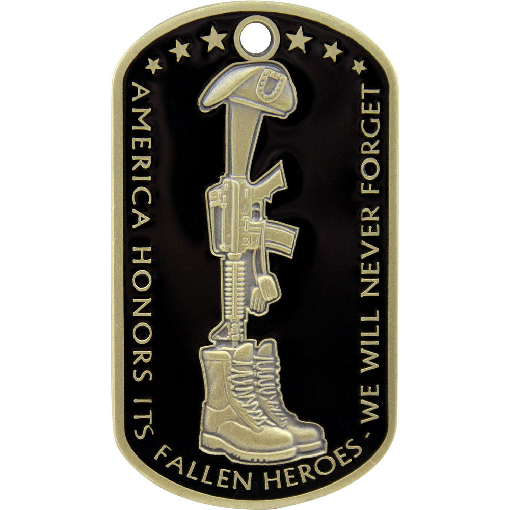 U.S. Army Fallen Heroes Coin - Front