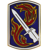 198th Infantry Brigade Combat Service Identification Badge