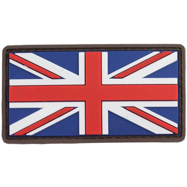 British Flag PVC Morale Patch - Full Color