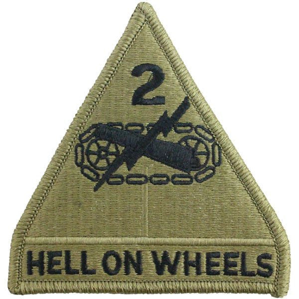 2nd Armored Division Patch - Scorpion Multicam