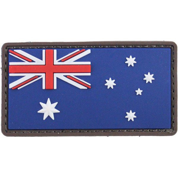 Australian Flag PVC Morale Patch - Full Color