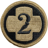 2nd Medical Brigade MultiCam (OCP) Patch