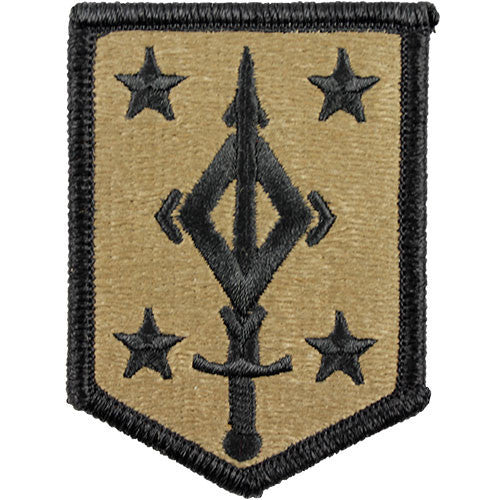 4th Maneuver Enhancement Brigade MultiCam (OCP) Patch
