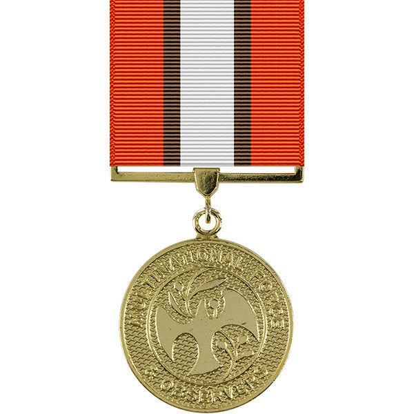 Multi-national Force and Observers Anodized Medal