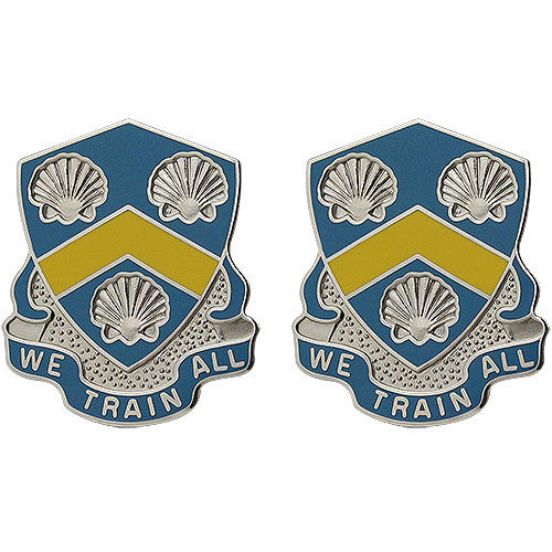 210th Regiment Unit Crest (We Train All)