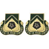19th Military Police Battalion Unit Crest (Truth is Our Sword)