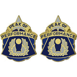 20th Aviation Battalion Unit Crest (Peak of Performance)