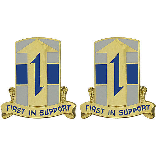 21st Theater Sustainment Command Unit Crest (First in Support)