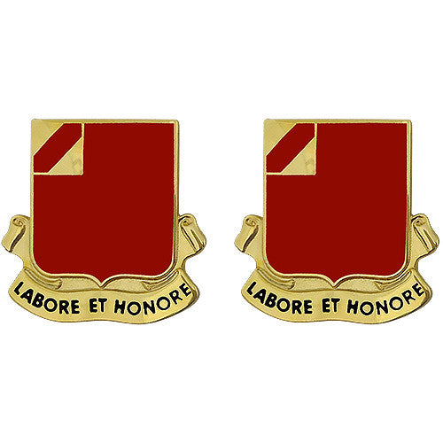 22nd Field Artillery Regiment Unit Crest (Labore Et Honore)