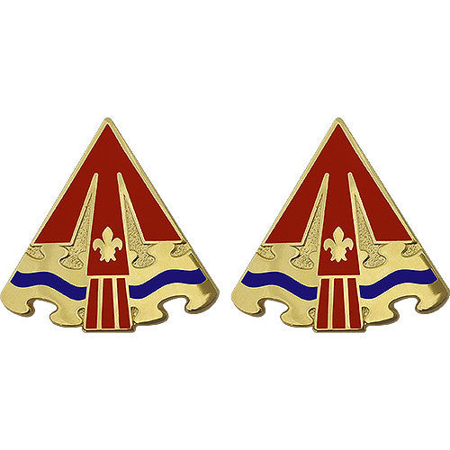 24th ADA (Air Defense Artillery) Group Unit Crest (No Motto)