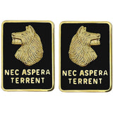 27th Infantry Regiment Unit Crest (Nec Aspera Terrent)