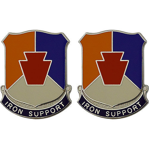 Special Troops Battalion, 28th Infantry Division Unit Crest (Iron Support)