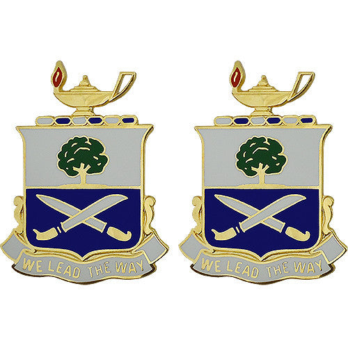 29th Infantry Regiment Unit Crest (We Lead the Way)