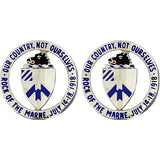 30th Infantry Regiment Unit Crest (Our Country, Not Ourselves)