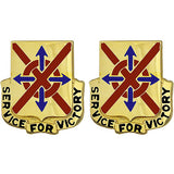 31st Support Battalion Unit Crest (Service for Victory)