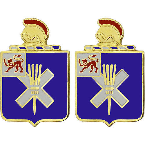 32nd Infantry Regiment Unit Crest (No Motto)
