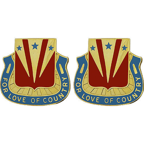 Special Troops Battalion, 33rd Infantry Brigade Combat Team Unit Crest (For Love of Country)