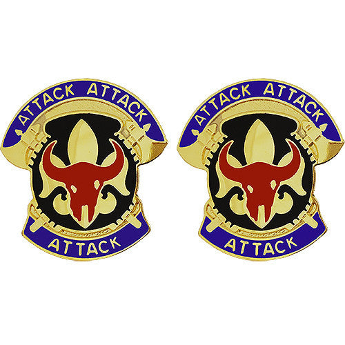 34th Infantry Division Unit Crest (Attack Attack Attack)