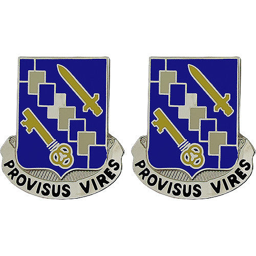 34th Support Battalion Unit Crest (Provisus Vires)