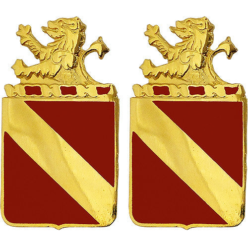 35th Field Artillery Regiment Unit Crest (No Motto)