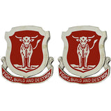 39th Engineer Battalion Unit Crest (Fight, Build and Destroy)