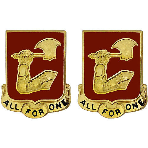 40th Field Artillery Regiment Unit Crest (All For One)