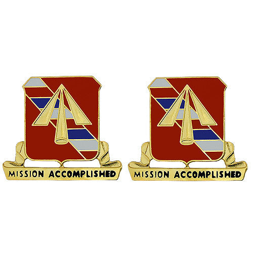 41st Field Artillery Regiment Unit Crest (Mission Accomplished)