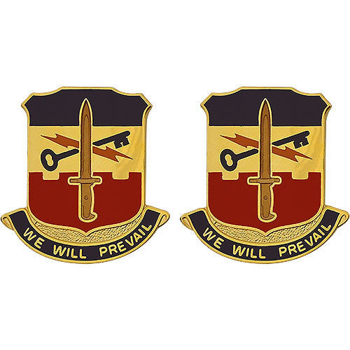 Special Troops Battalion, 41st Infantry Brigade Combat Team Unit Crest (We Will Prevail)