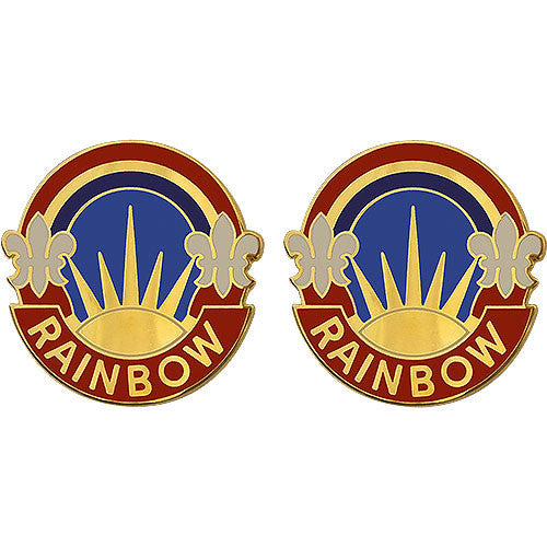 42nd Infantry Division Unit Crest (Rainbow)