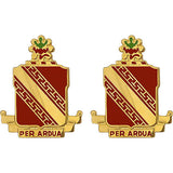 44th ADA (Air Defense Artillery) Regiment Unit Crest (Per Ardua)