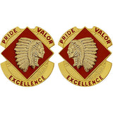 45th Field Artillery Brigade Unit Crest (Pride Valor Excellence)