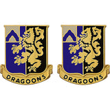 48th Infantry Regiment Unit Crest (Dragoons)