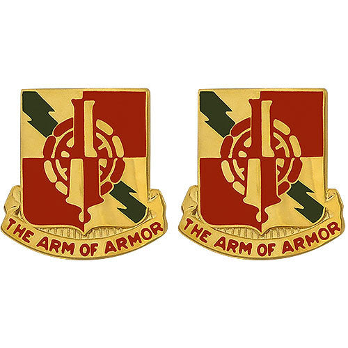 50th Main Support Battalion Unit Crest (The Arm of Armor)