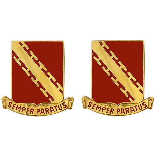 52nd ADA (Air Defense Artillery) Regiment Unit Crest (Semper Paratus)