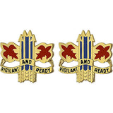 52nd ADA (Air Defense Artillery) Brigade Unit Crest (Vigilant and Ready)