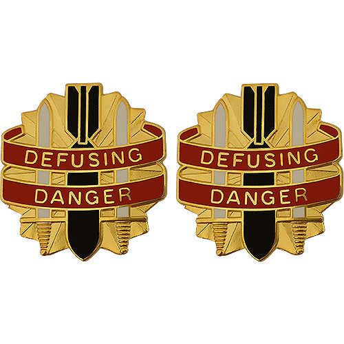 52nd Ordnance Group Unit Crest (Defusing Danger)